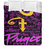 Prince Poster Duvet Cover Double Side (California King Size)