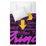 Prince Poster Duvet Cover Double Side (Single Size)
