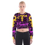 Prince Poster Cropped Sweatshirt