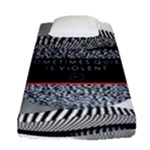 Sometimes Quiet Is Violent Twenty One Pilots The Meaning Of Blurryface Album Fitted Sheet (Single Size)