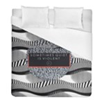 Sometimes Quiet Is Violent Twenty One Pilots The Meaning Of Blurryface Album Duvet Cover (Full/ Double Size)