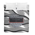 Sometimes Quiet Is Violent Twenty One Pilots The Meaning Of Blurryface Album Duvet Cover Double Side (Full/ Double Size)