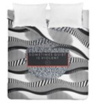 Sometimes Quiet Is Violent Twenty One Pilots The Meaning Of Blurryface Album Duvet Cover Double Side (Queen Size)