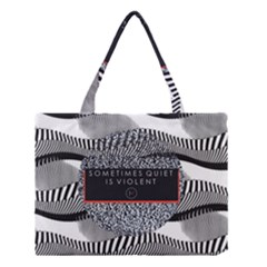 Sometimes Quiet Is Violent Twenty One Pilots The Meaning Of Blurryface Album Medium Tote Bag by Onesevenart