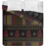 Tardis Doctor Who Ugly Holiday Duvet Cover Double Side (King Size)