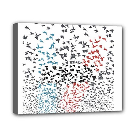 Twenty One Pilots Birds Canvas 10  X 8  by Onesevenart