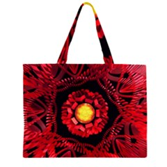 The Sun Is The Center Zipper Large Tote Bag by linceazul