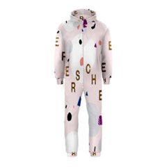 Cheers Polkadot Circle Color Rainbow Hooded Jumpsuit (Kids) by Mariart