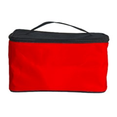 Heart Rhythm Inner Red Cosmetic Storage Case by Mariart