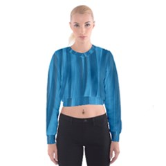 Abstraction Cropped Sweatshirt by Valentinaart