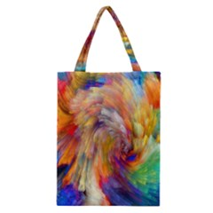 Rainbow Color Splash Classic Tote Bag by Mariart