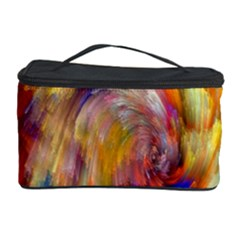 Rainbow Color Splash Cosmetic Storage Case by Mariart