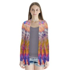 Rainbow Color Splash Cardigans by Mariart
