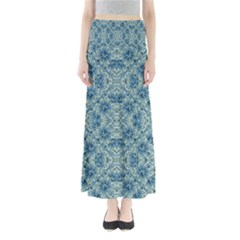 Modern Baroque Pattern Maxi Skirts by dflcprintsclothing