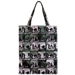 Comic Book  Zipper Classic Tote Bag by Valentinaart