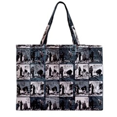 Comic Book  Medium Tote Bag by Valentinaart