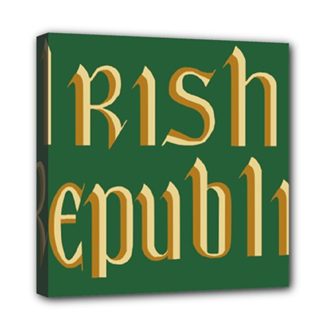 The Irish Republic Flag (1916, 1919-1922) Mini Canvas 8  x 8
