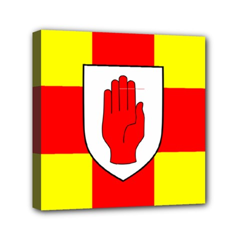 Flag of the Province of Ulster  Mini Canvas 6  x 6  by abbeyz71