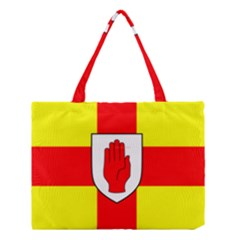 Flag Of The Province Of Ulster  Medium Tote Bag by abbeyz71