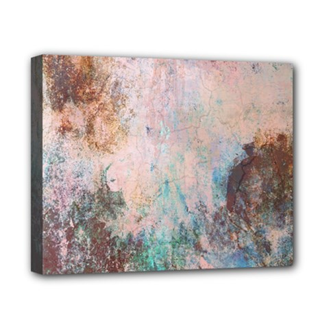 Cold Stone Abstract Canvas 10  X 8  by theunrulyartist
