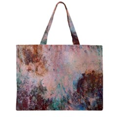 Cold Stone Abstract Zipper Mini Tote Bag by theunrulyartist