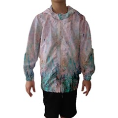 Cold Stone Abstract Hooded Wind Breaker (kids) by digitaldivadesigns