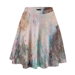 Cold Stone Abstract High Waist Skirt by theunrulyartist