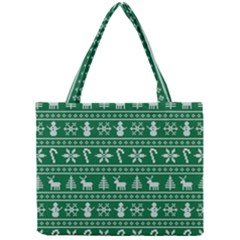 Ugly Christmas Mini Tote Bag by Onesevenart