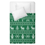 Ugly Christmas Duvet Cover Double Side (Single Size)