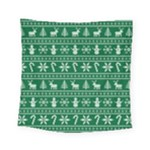 Ugly Christmas Square Tapestry (Small)