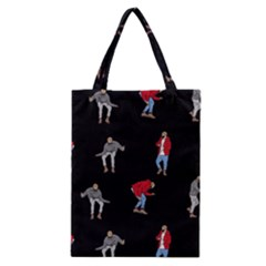 Drake Ugly Holiday Christmas Classic Tote Bag by Onesevenart