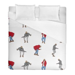 Drake Ugly Holiday Christmas Duvet Cover (full/ Double Size) by Onesevenart