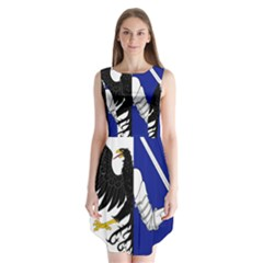 Flag Of Connacht Sleeveless Chiffon Dress