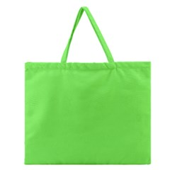 Neon Color   Light Brilliant Harlequin Zipper Large Tote Bag by tarastyle
