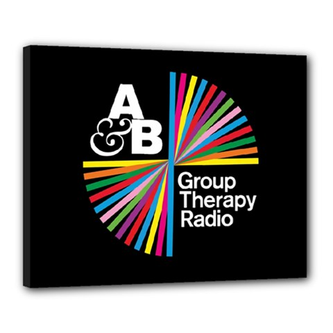 Above & Beyond  Group Therapy Radio Canvas 20  X 16  by Onesevenart