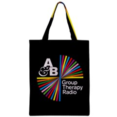 Above & Beyond  Group Therapy Radio Zipper Classic Tote Bag by Onesevenart