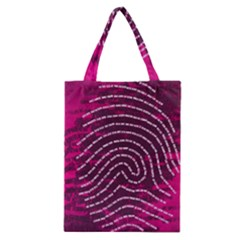 Above & Beyond Sticky Fingers Classic Tote Bag by Onesevenart
