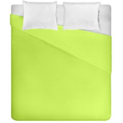 Neon Color   Light Brilliant Lime Green Duvet Cover Double Side (california King Size) by tarastyle
