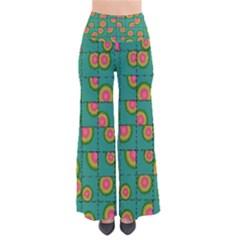 Tiled Circular Gradients Pants by linceazul