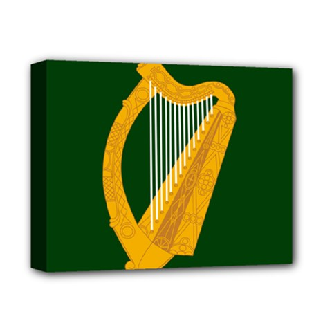 Flag Of Leinster Deluxe Canvas 14  X 11  by abbeyz71