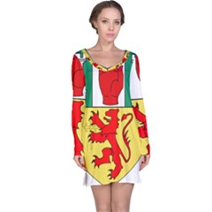 County Antrim Coat Of Arms Long Sleeve Nightdress by abbeyz71