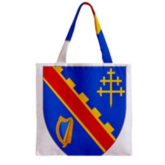 County Armagh Coat Of Arms Zipper Grocery Tote Bag by abbeyz71
