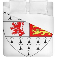 County Carlow Coat Of Arms Duvet Cover (king Size) by abbeyz71