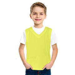 Neon Color   Light Brilliant Yellow Kids  Sportswear by tarastyle