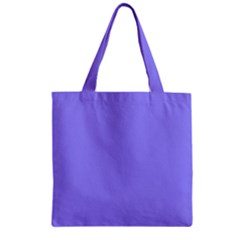 Neon Color   Light Persian Blue Zipper Grocery Tote Bag by tarastyle