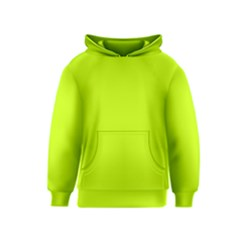 Neon Color   Luminous Vivid Lime Green Kids  Pullover Hoodie by tarastyle
