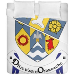 County Clare Coat Of Arms Duvet Cover Double Side (california King Size) by abbeyz71