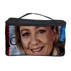 Marine Le Pen Cosmetic Storage Case by Valentinaart