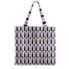 Makeup Zipper Grocery Tote Bag by Valentinaart