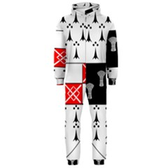 County Kilkenny Coat of Arms Hooded Jumpsuit (Men)